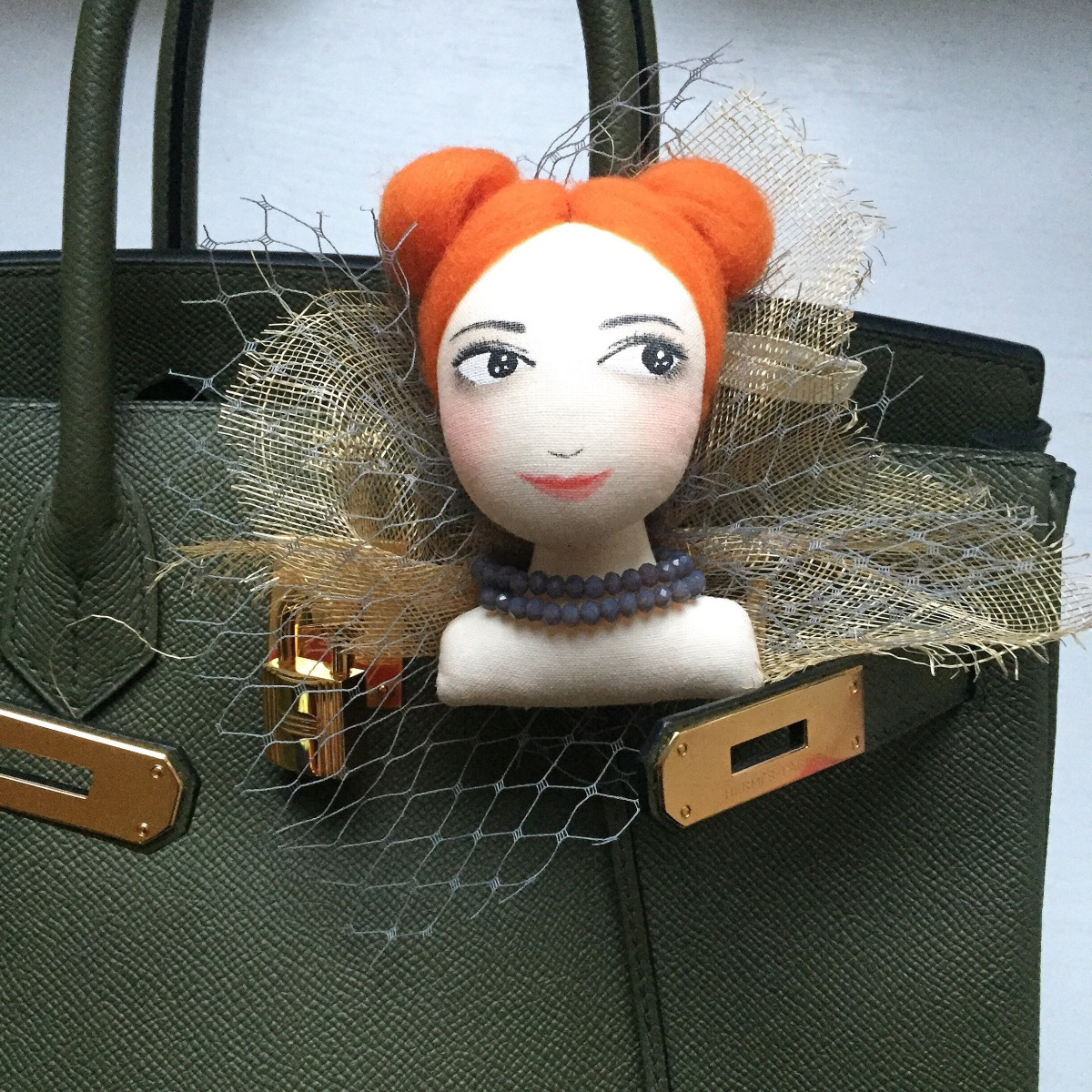 Doll brooch version 1