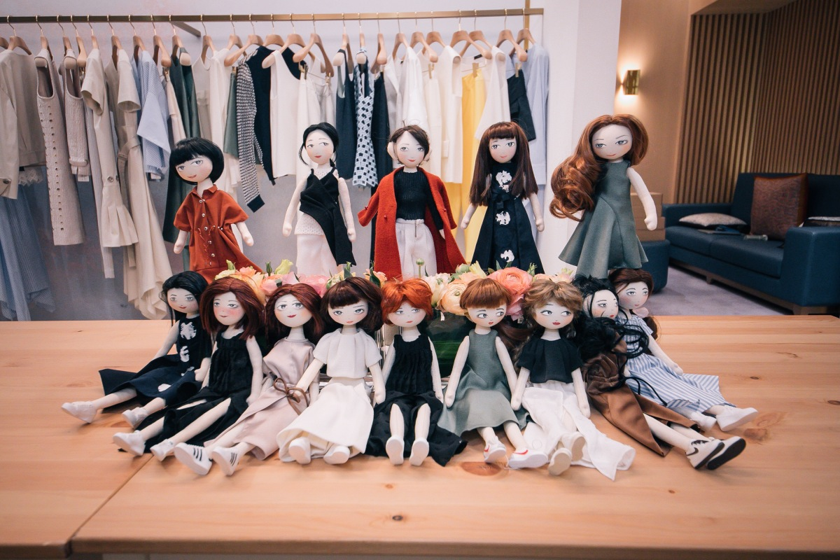 anagram x ning lau VIP doll workshop